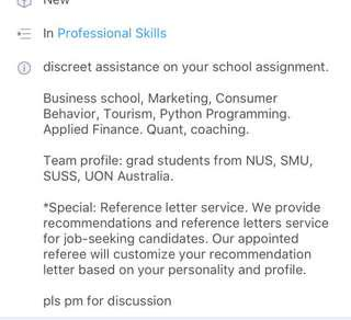 school assignment assistance