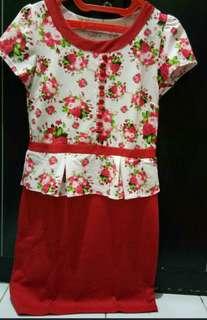 #merdeka73 flower dress