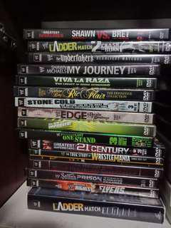 🚚 Wwe/Wwf Vintage DVD Collections.