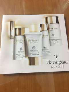 Cle de peau uv protective cream sample