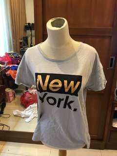 baju kaos new york