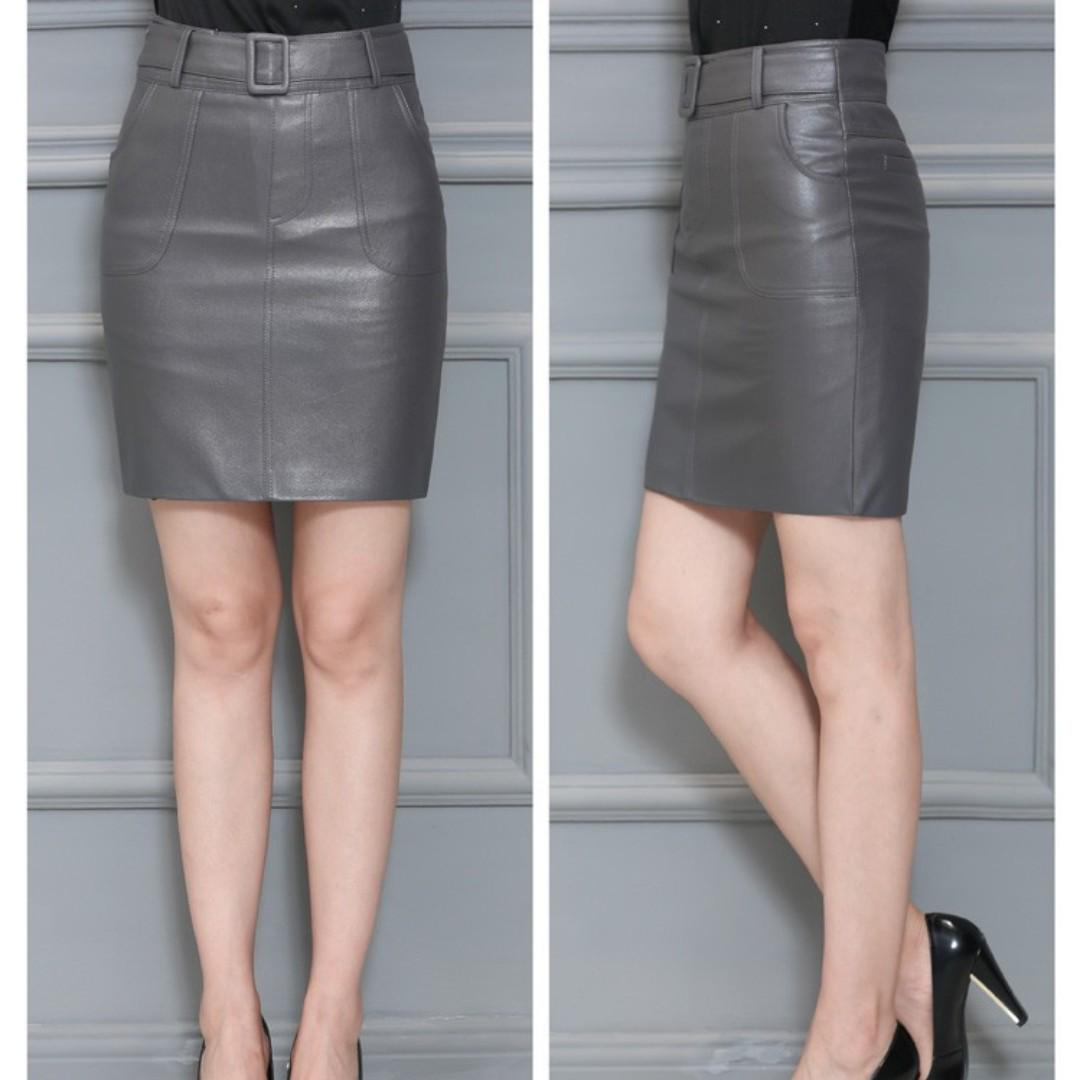 336 新款中腰裙女半身裙