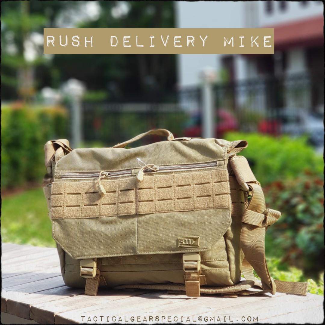 Afbeeldingsresultaat voor RUSH Delivery MIKE