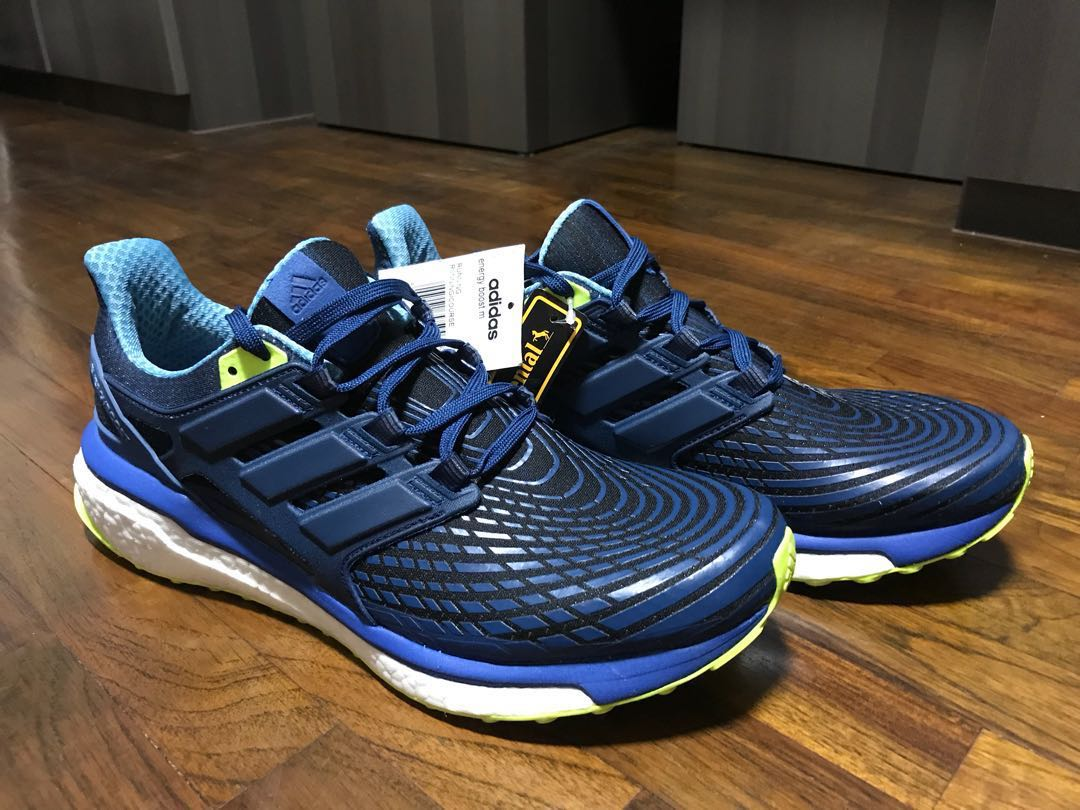 ee688194c0f90c ADIDAS Energy Boost mens running shoes (UK10 Blue)