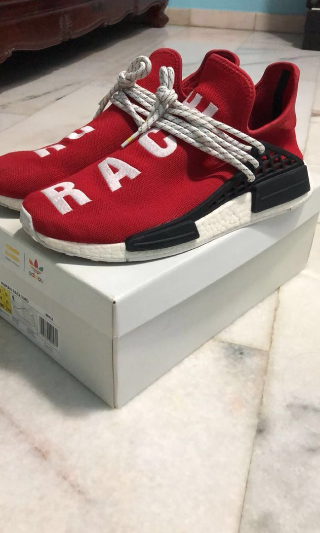 f0304ab4a006c Adidas Human race Scarlet red