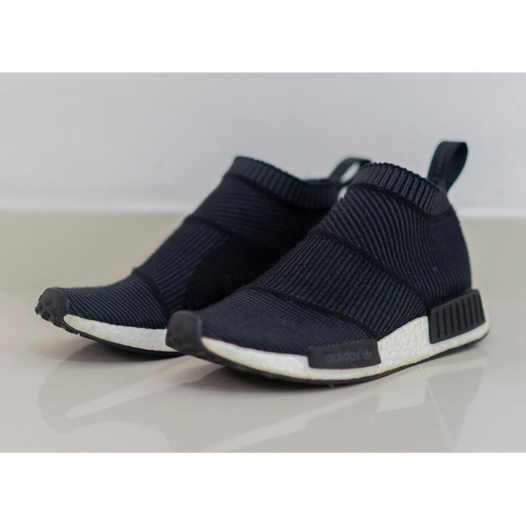promo code be252 91962 adidas NMD City Sock Winter Wool Black S32184 UK7 US7.5