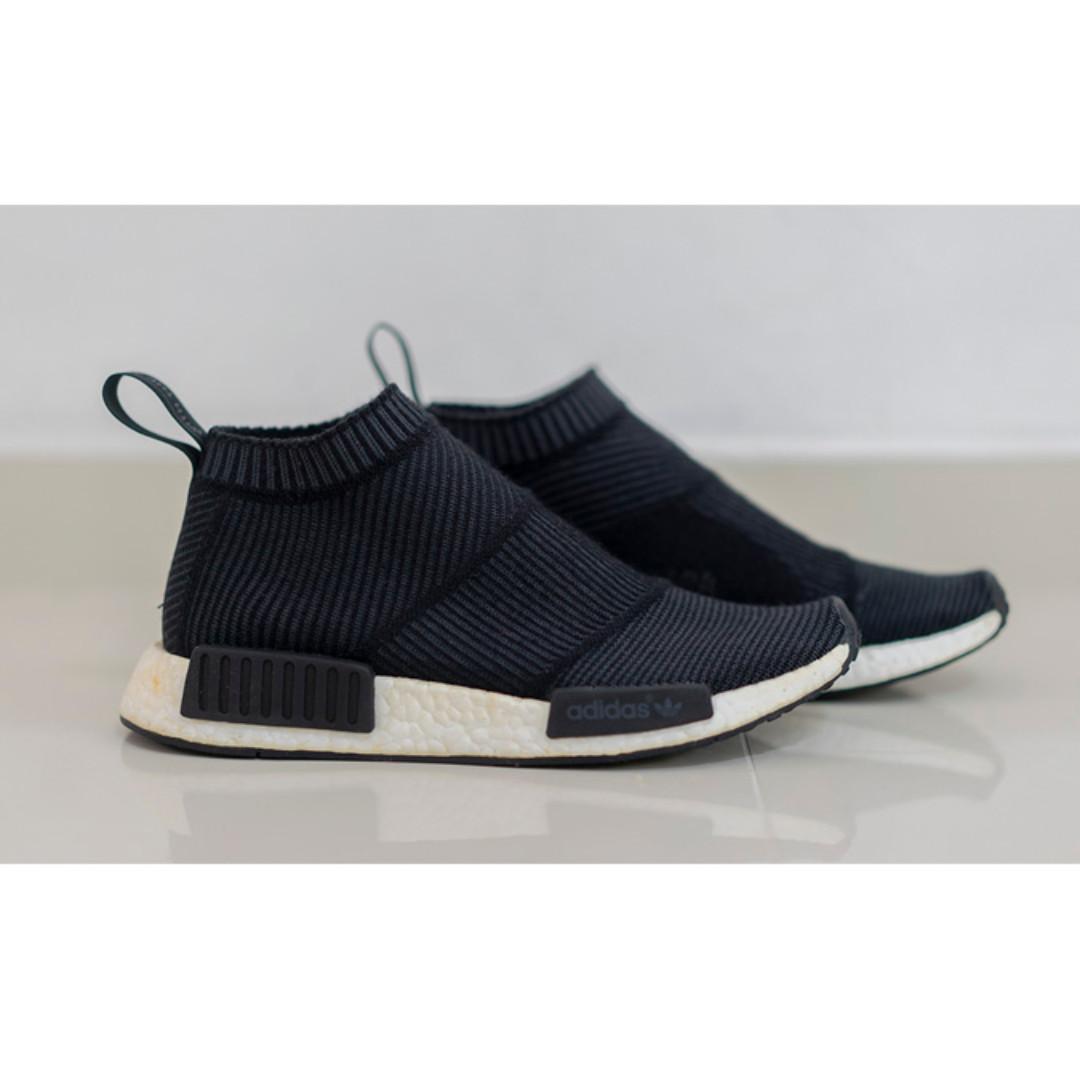 5e5543d11a88c adidas NMD City Sock Winter Wool Black S32184 UK7 US7.5