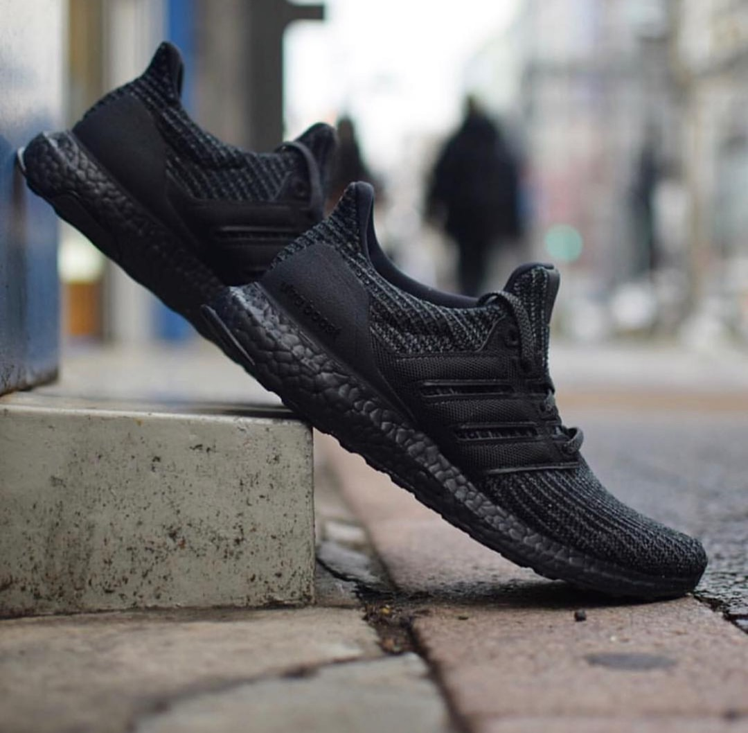 86f8ff6048e Adidas Ultra Boost 4.0 Triple Black