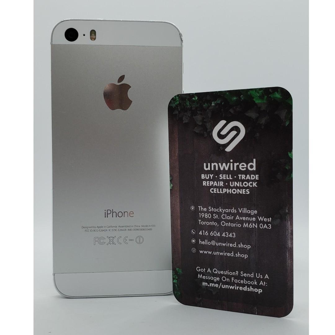Apple iPhone 5s, Silver (16GB)