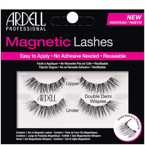 14dd80562d8 Ardell Magnetic Lashes (Double Demi Wispies), Health & Beauty, Makeup on  Carousell