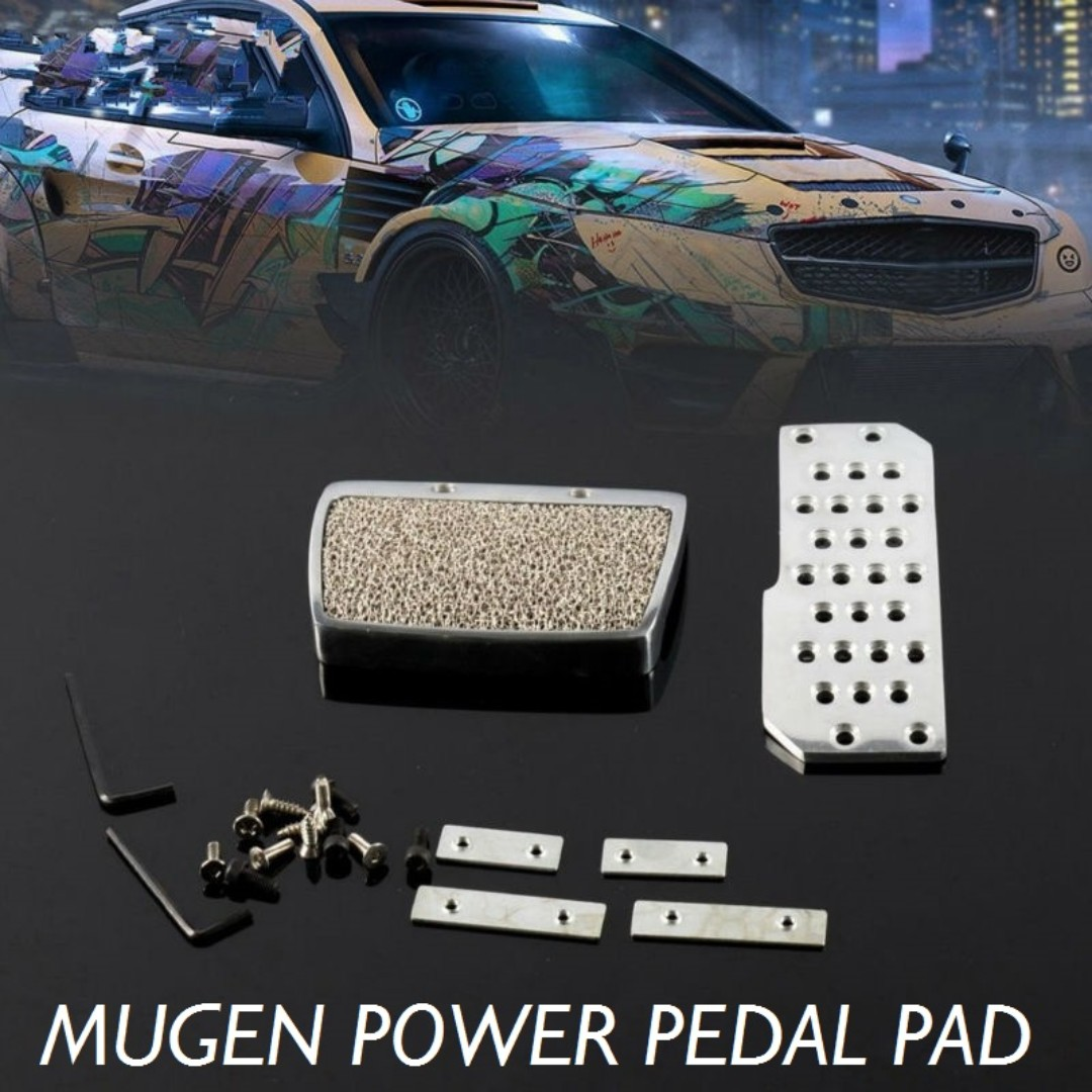 AT Car Automatic Foot Rest Mugen Power Pedal Pad Cover For