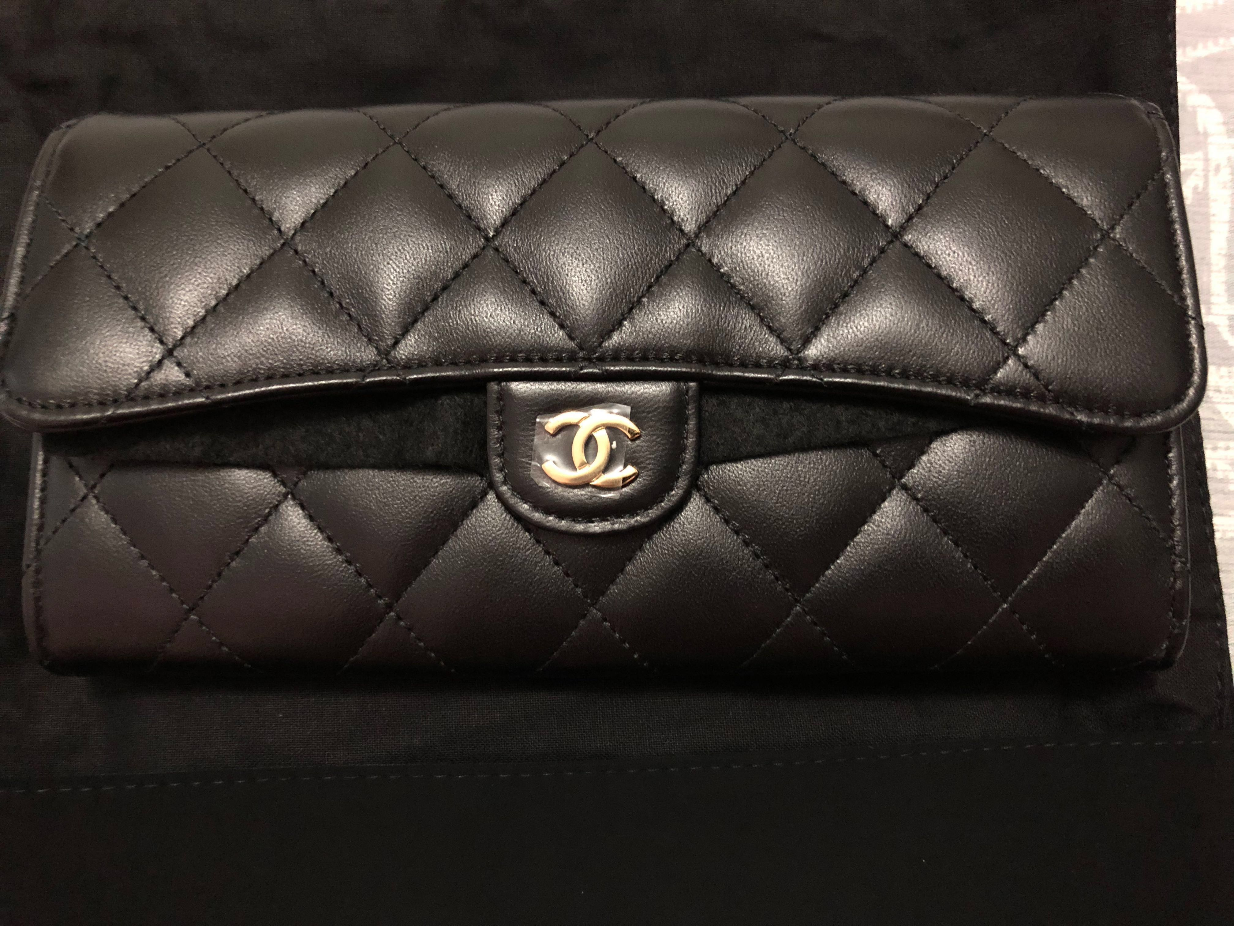 a14205c0991fbf Authentic) Chanel Classic Long Wallet, Luxury, Bags & Wallets on ...