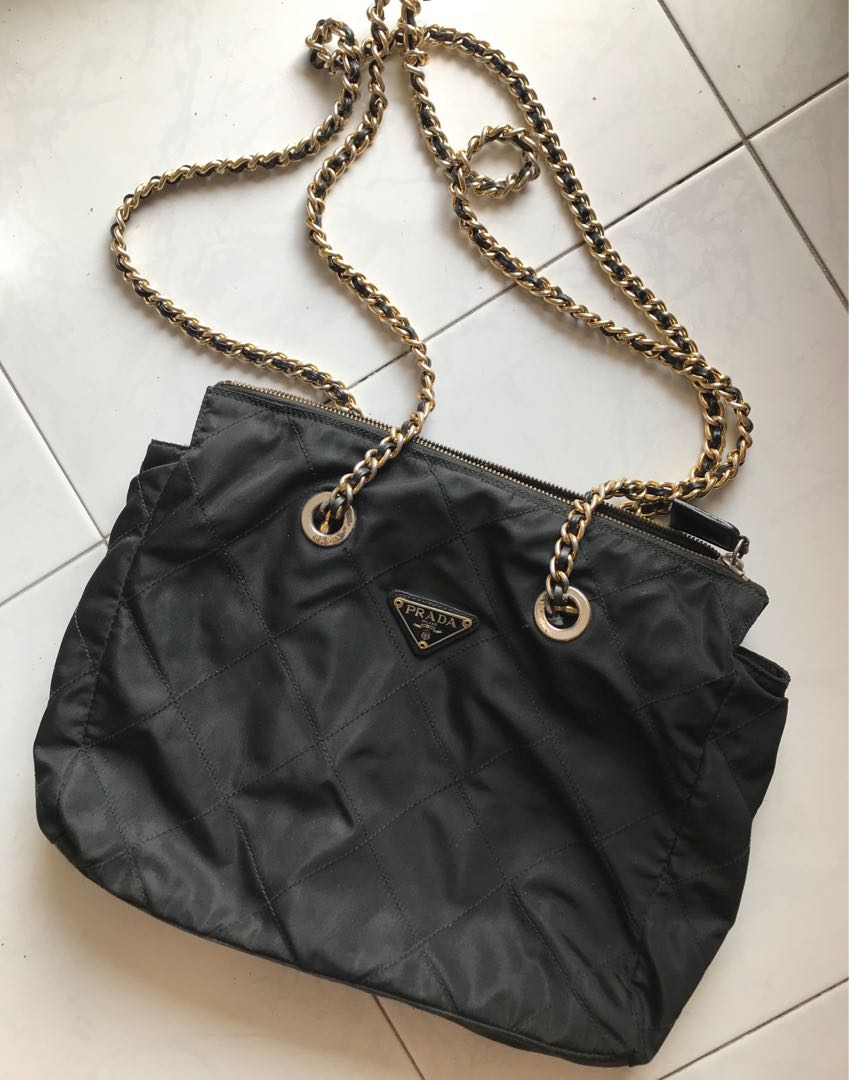 dd6e3d14f120 ... where to buy authentic prada chain bag luxury bags wallets on carousell  1f506 c1839