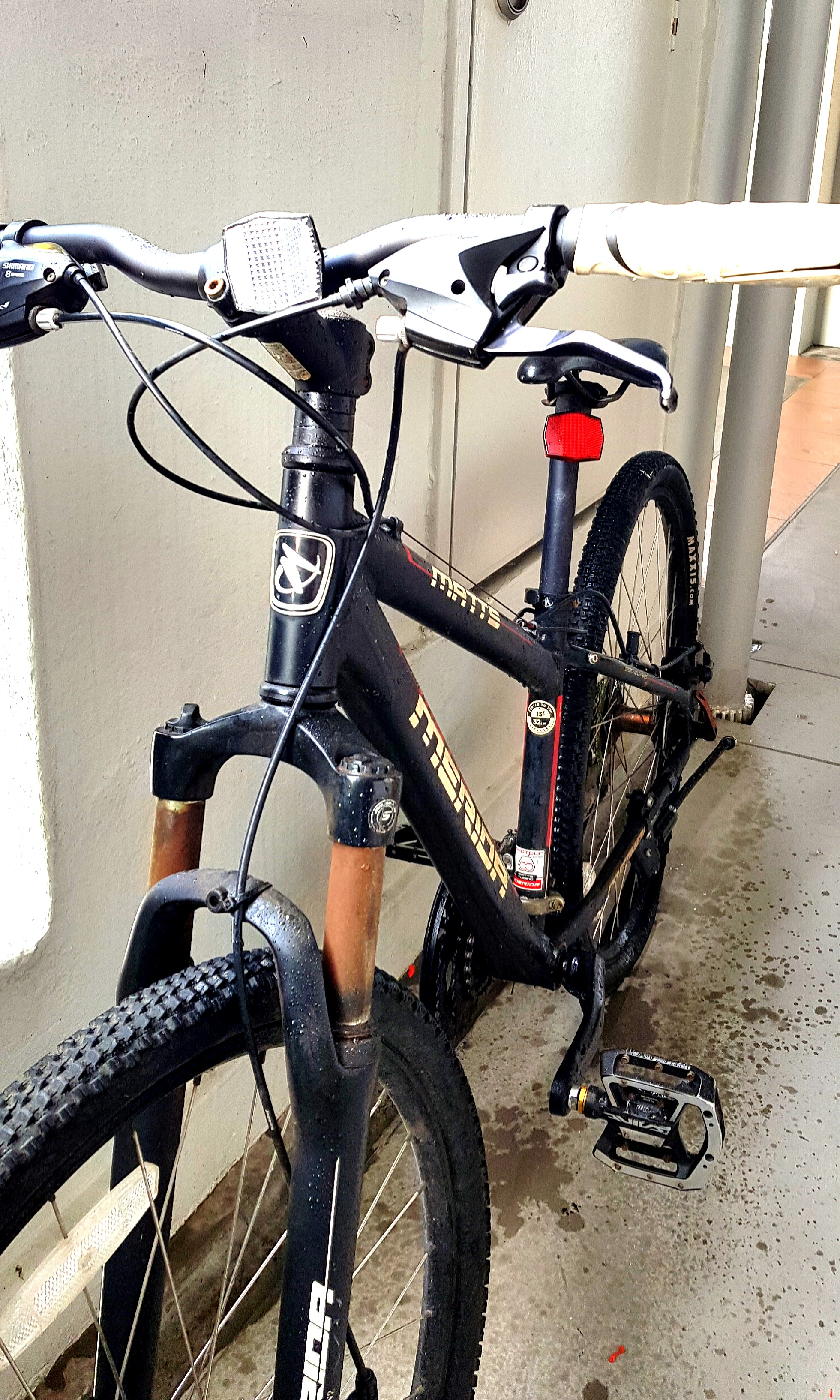 Matte Merida Bicycle With Shimano Pedals Bicycles Pmds Bicycles