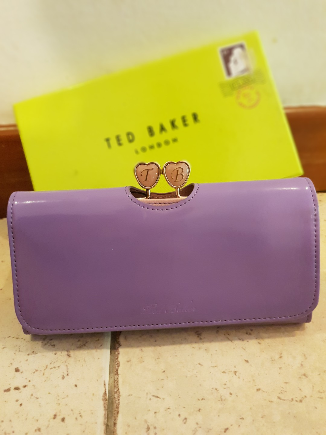 c8e76fee8ba9 Brand new Ted Baker Wallet in Lilac