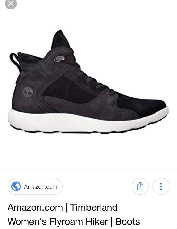 BRAND NEW Timberland Women's Flyroam Hiker Boots in Black