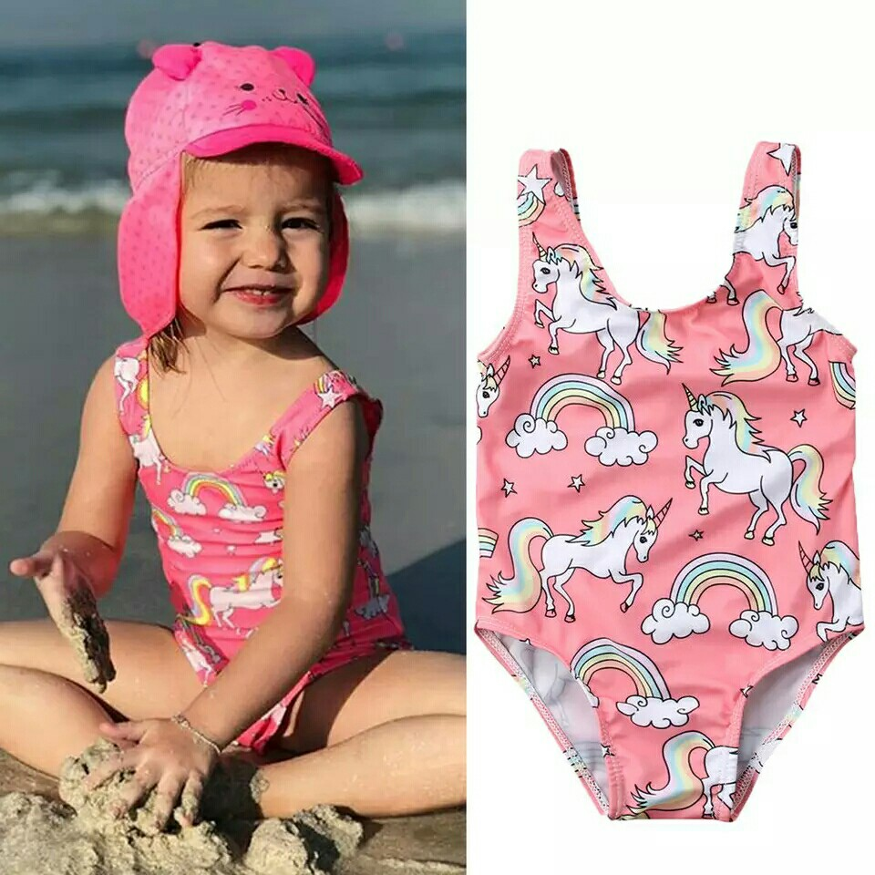 194bba77c0 Brand New Toddler Infant Newborn Baby Kids Girls Swimsuit Swimwear ...