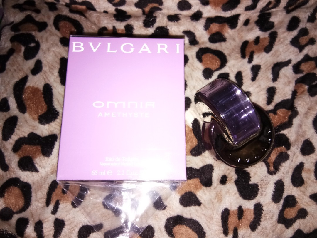 Bvlgari Omnia Amethyste Health Beauty Perfumes Nail Care 65 Ml Non Box Others On Carousell