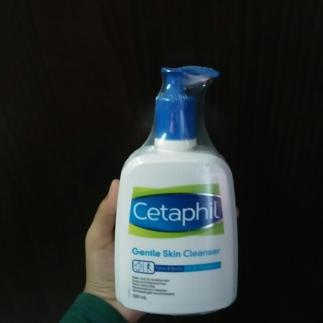 Cetaphil Gentle Skin Cleanser Health Beauty Bath Body 500 Ml On Carousell