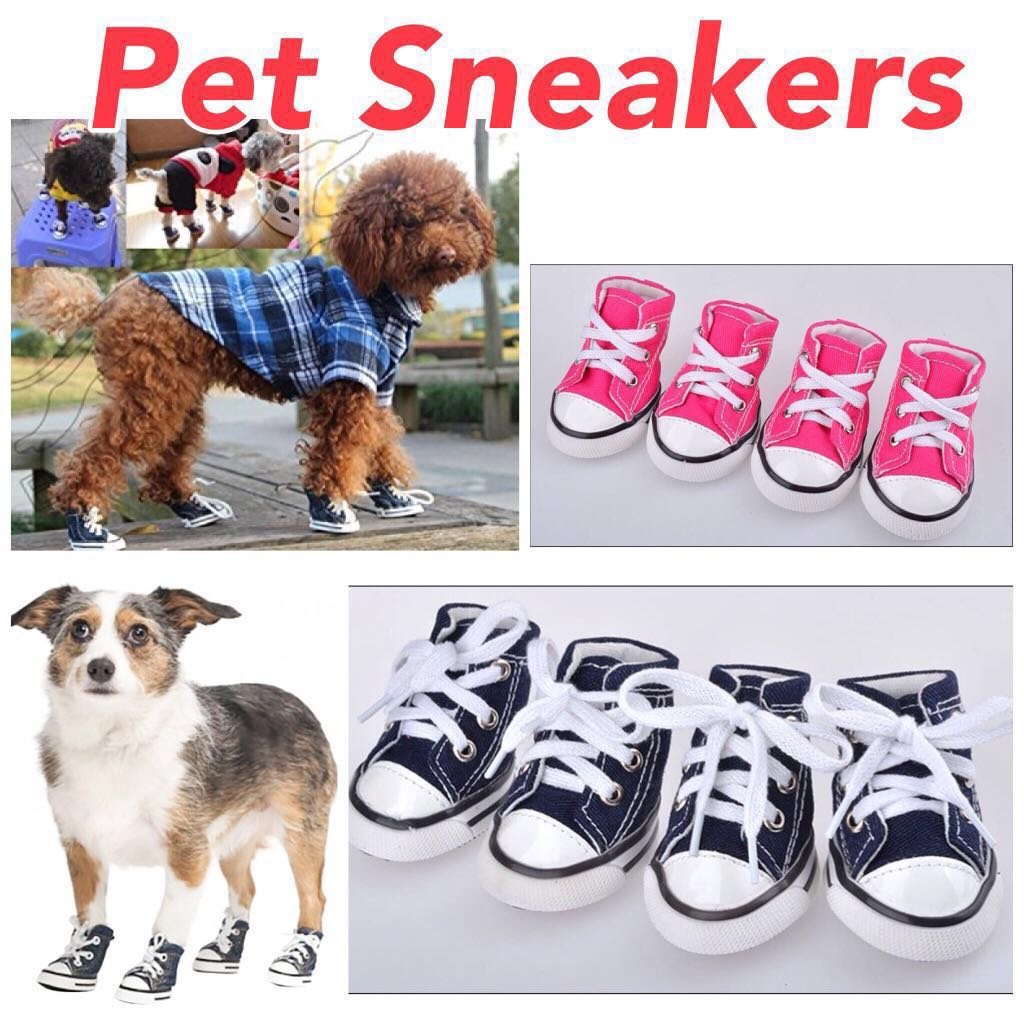 Instock Pet Sneakers Shoes Dog Cat