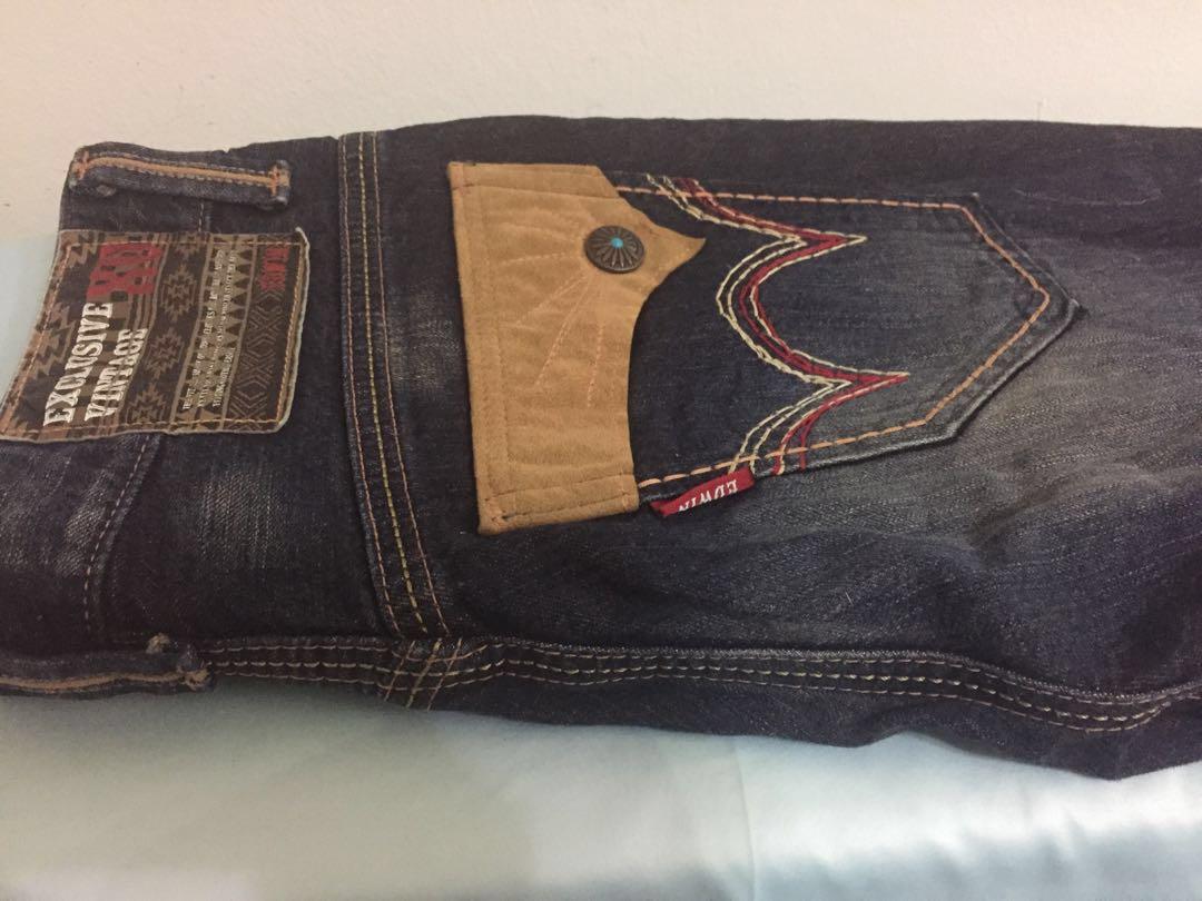 ba85e2c7 Jeans Edwin ( edwin exclusive vintage xv ), Men's Fashion, Clothes ...