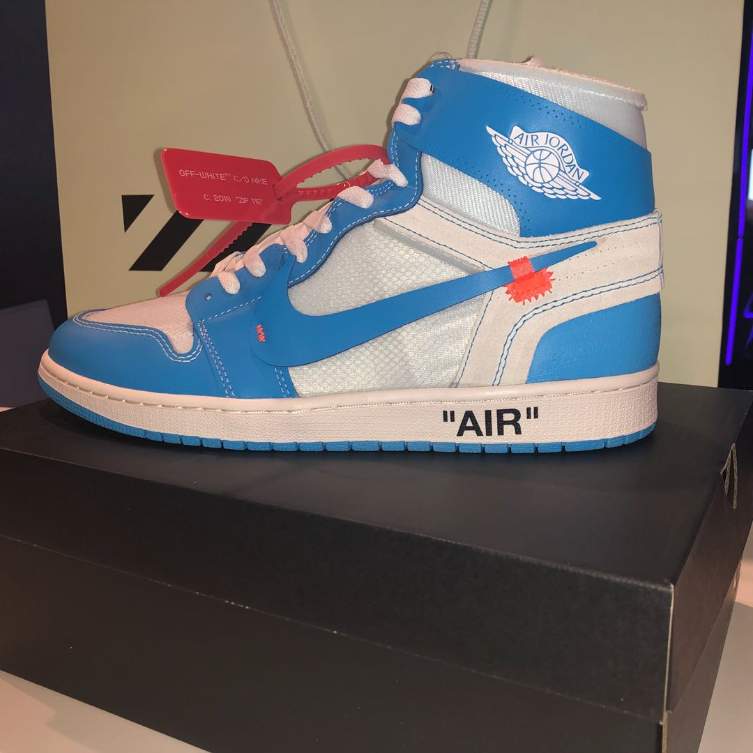 336d5d1f45d Jordan 1 UNC, Men's Fashion, Footwear, Sneakers on Carousell