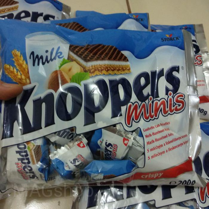 KNOPPERS MINI 200gram / KNOPPERS MINIS, Food & Drinks, Packaged