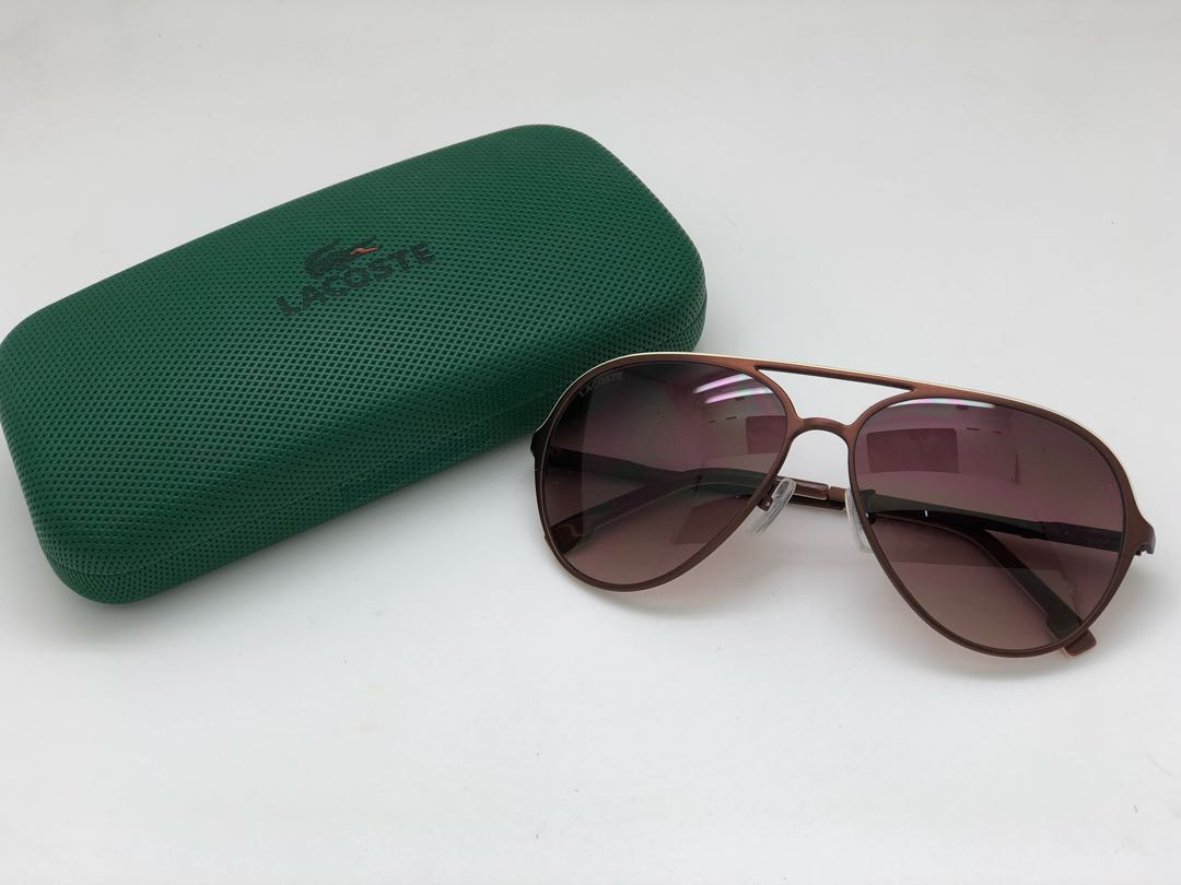 62f9d3cfac04a Lacoste Aviator Sunglasses