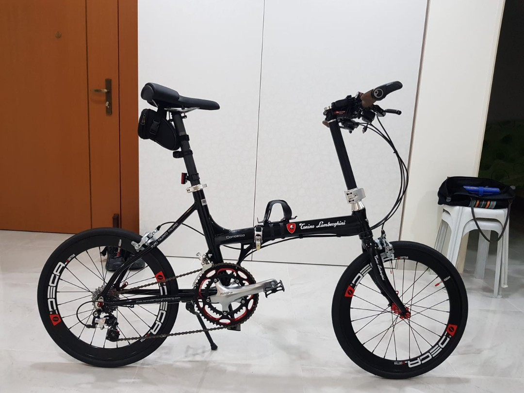 Lamborghini Folding Bike Bicycles Pmds Bicycles Others On Carousell