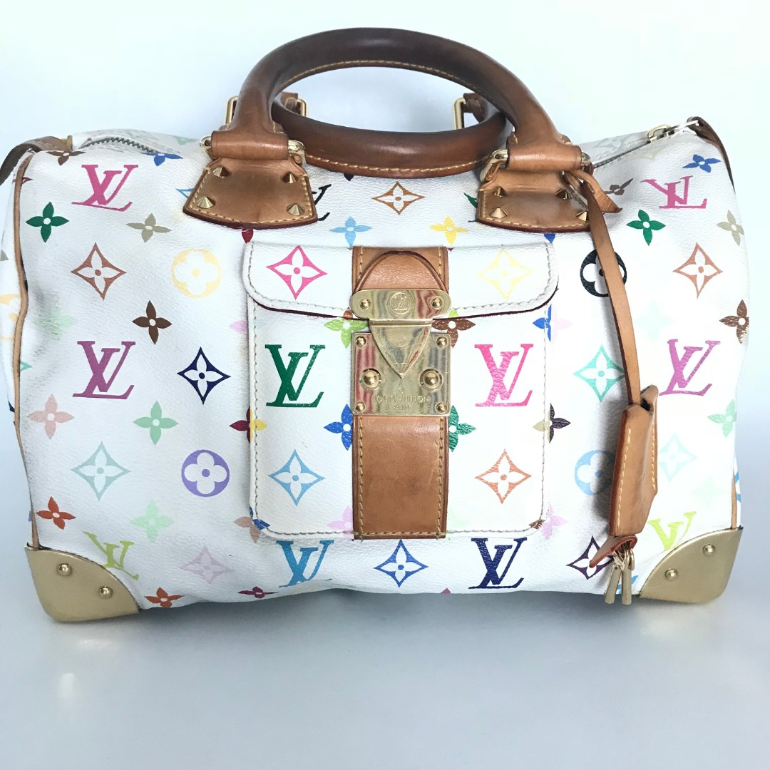 4e60fd88b496 Louis Vuitton Speedy 30 Monogram Multicolore