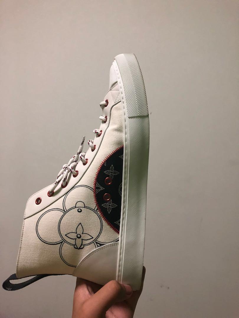 d5276dbdcbab Louis Vuitton TATTOO SNEAKER BOOT