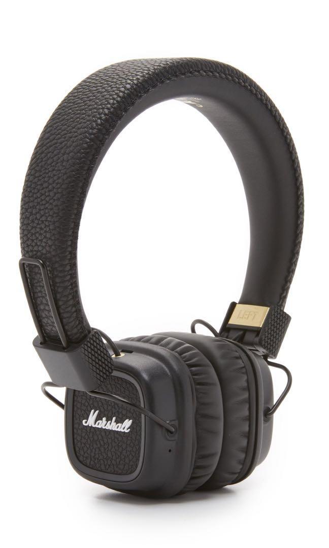 6c3c96db4587 Marshall Major II Bluetooth Headphones