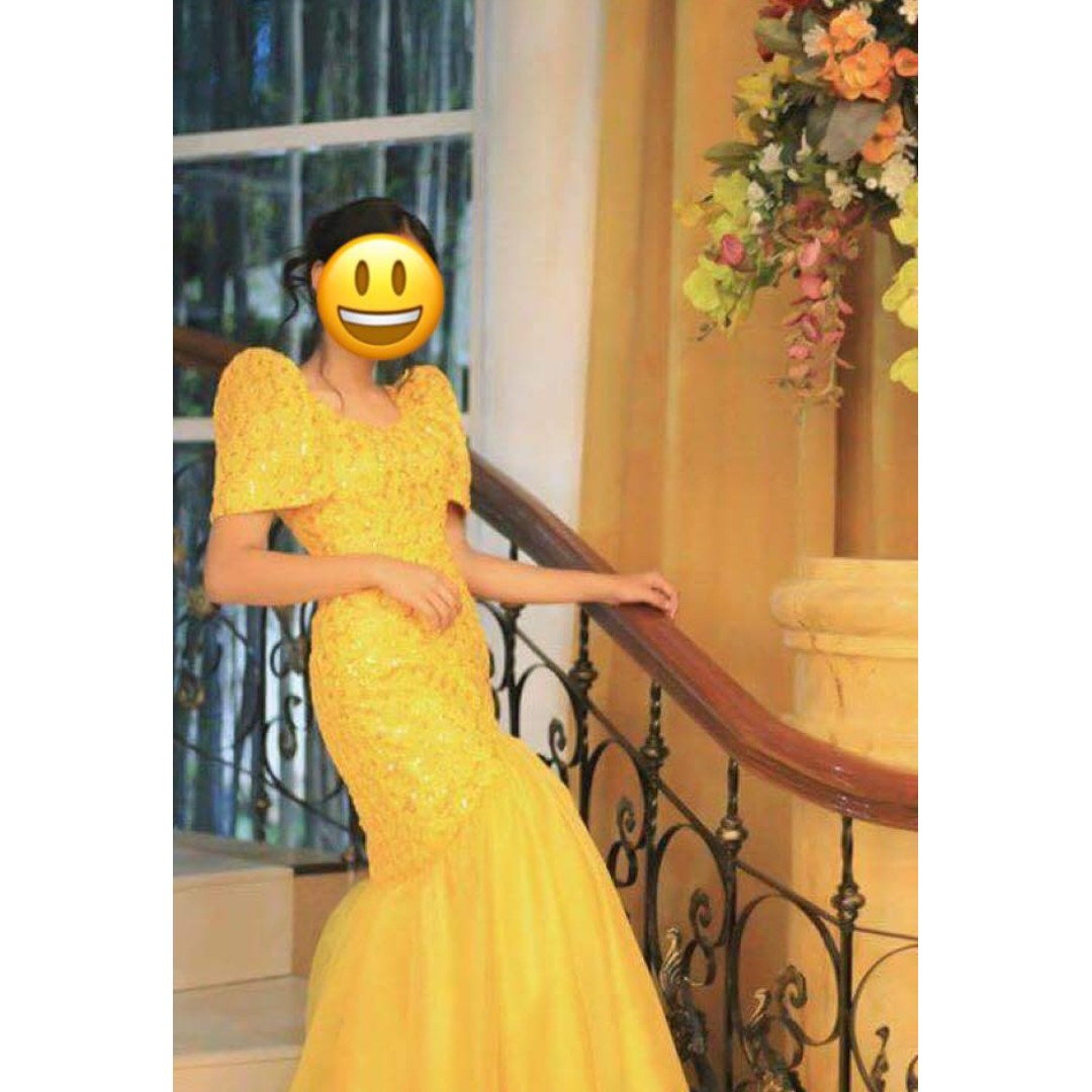 Sell Car Online >> Modern Filipiniana Gown for RENT!, Women's Fashion ...