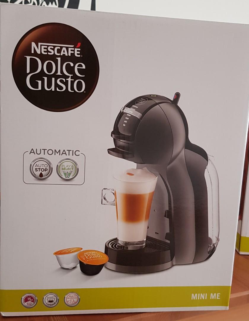Nescafe Dolce Gusto Mini Me Black Grey Home Appliances