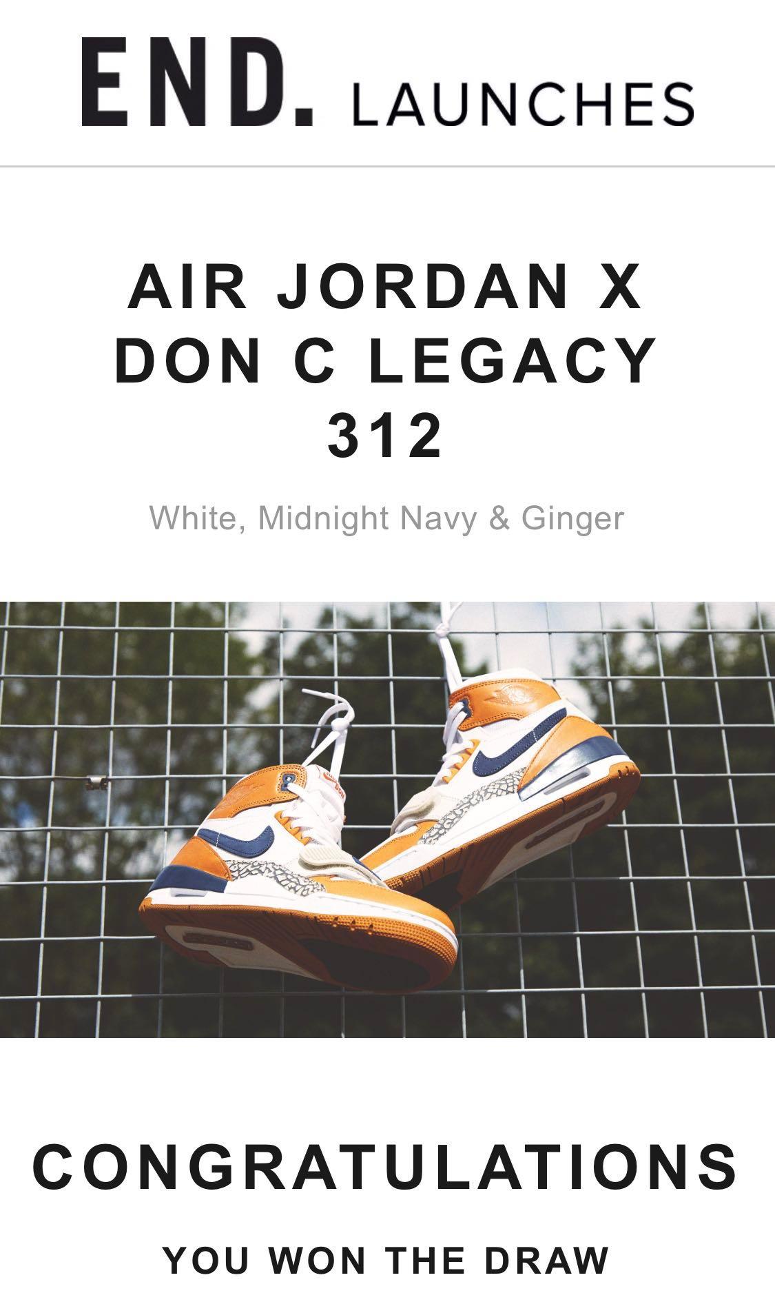 brand new 4cf07 092f1 Nike Air Jordan X Don C Legacy 312