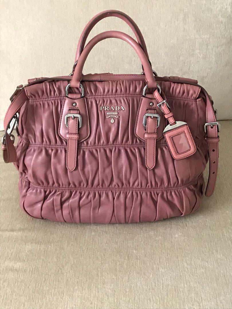 0fef280c5808 Prada Nappa Gaufre BN1336, Luxury, Bags & Wallets, Handbags on Carousell
