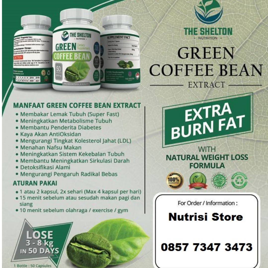 PROMO BUY 1 GET 1 Green Coffee DIET / Kopi Hijau DIET - Suplemen Pelangsing, Health & Beauty, Perfumes, Nail Care, & Others on Carousell