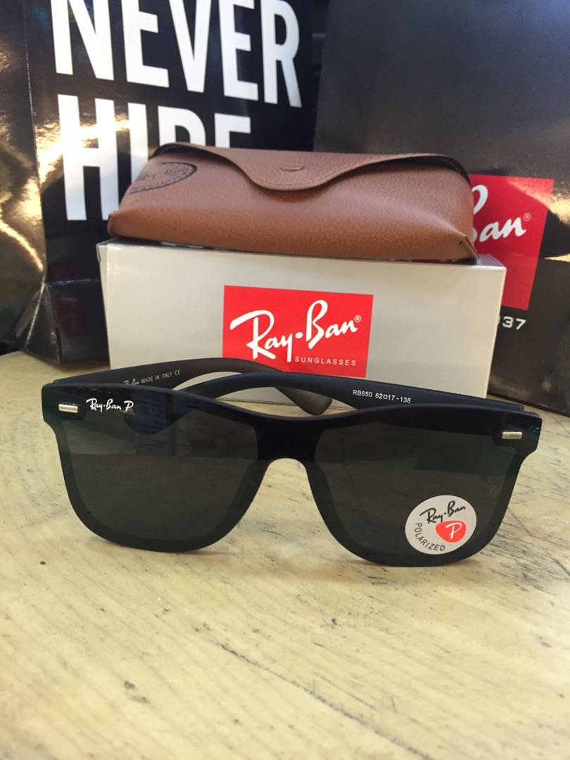 f076d9f5d ... release date rayban justin blaze polarized mens fashion accessories  eyewear sunglasses on carousell aedf9 f9ee9