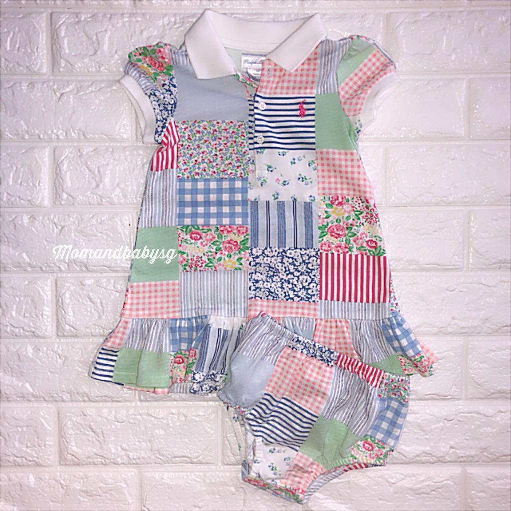 95f4414f SALE! Ralph Lauren Rare patchwork baby dress, Babies & Kids, Babies ...