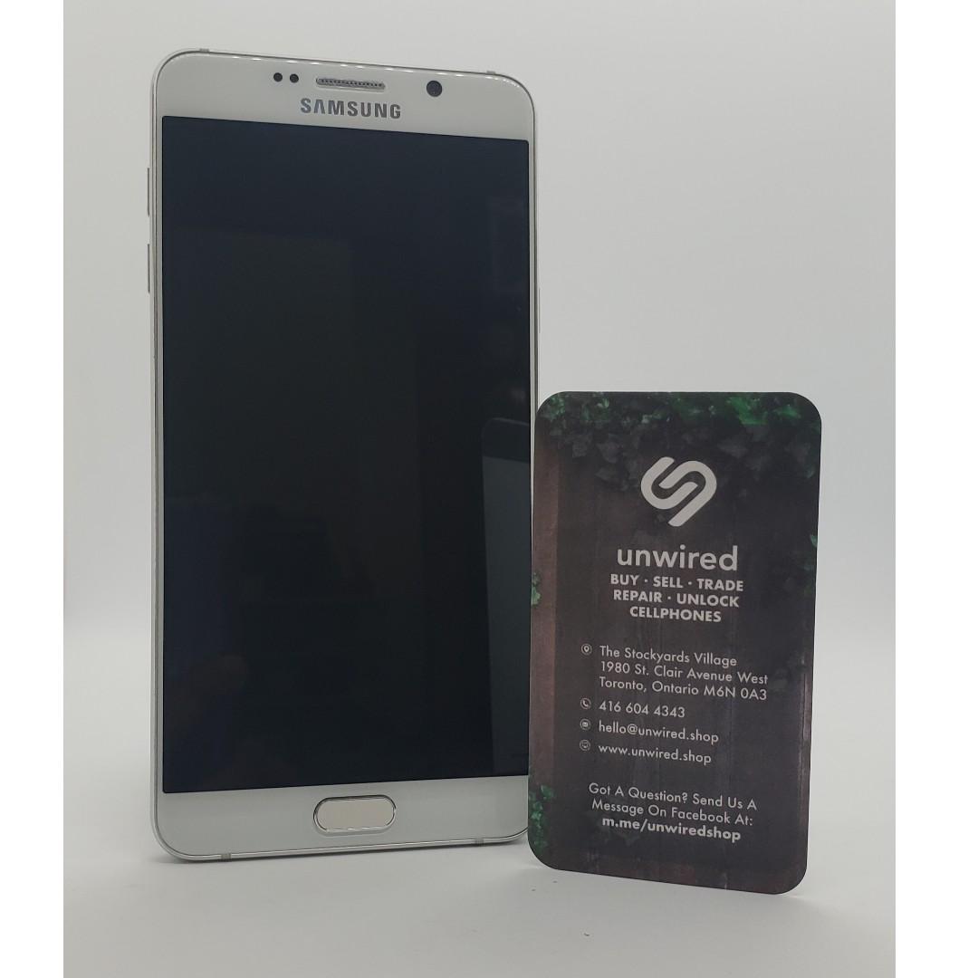 Samsung Galaxy Note 5, White (32GB)