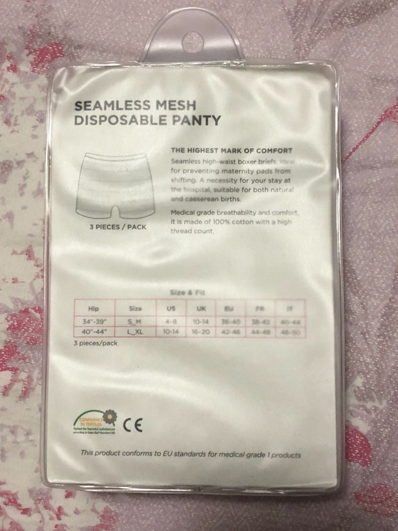 6c95220eecdf Spring maternity disposable underwear L/XL, Babies & Kids, Maternity on  Carousell