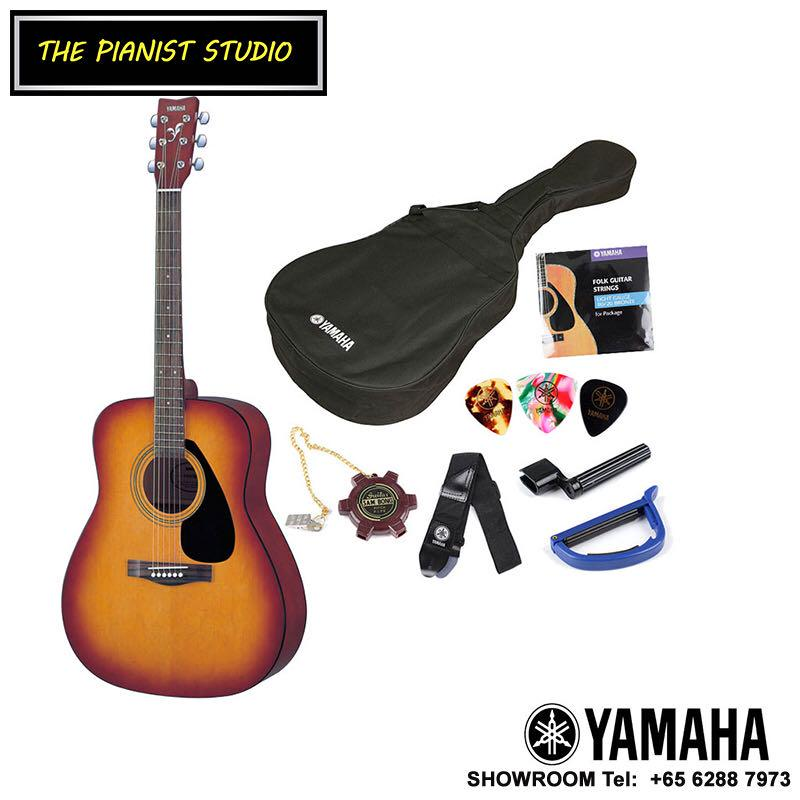 THE PIANIST STUDIO - Yamaha F310P Acoustic Guitar Package at Singapore Sale