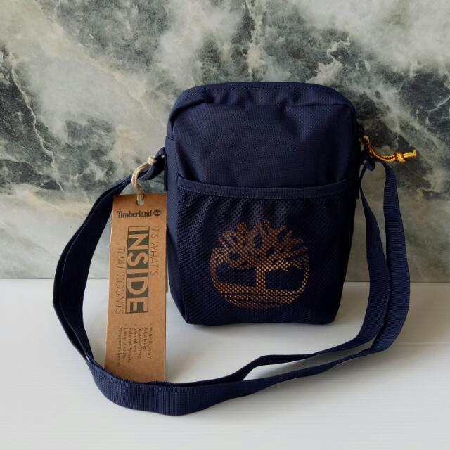 64f8292aaa Timberland Mini Sling Bag, Luxury, Bags & Wallets on Carousell