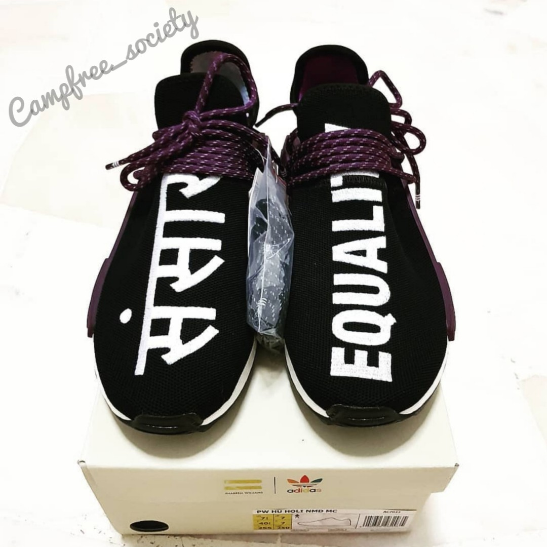 17c13d7de818a UK 7 - Adidas Human Race NMD Core Black