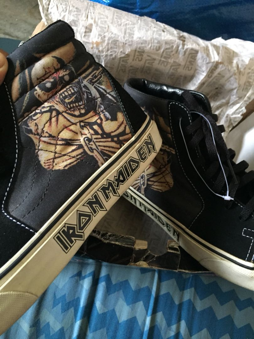 "factory price 9e856 fbe0d Vans Iron Maiden ""Piece Of Mind"" 💯"