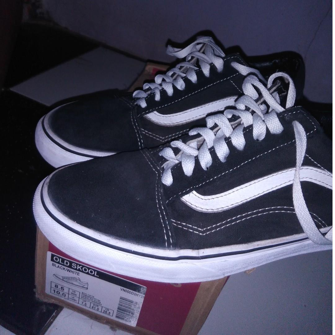 7a76314b70 Vans Old Skool BW Size 8