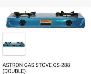 BIG SALE! Astron Double Burner Gas Stove