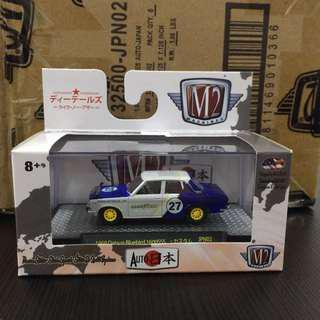 M2 Machines Auto Japan Datsun Bluebird SS1600