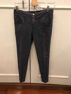 rendy black washed jeans
