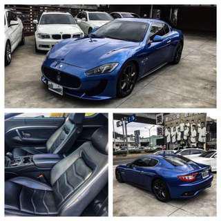 2012年瑪莎拉蒂 Gran Turismo V8 4.2 📍小改款📍里程3萬7公里📍台灣蒙地拿總代理 (全原廠保養)📍新款日間行車燈📍怪獸椅 新車價635萬